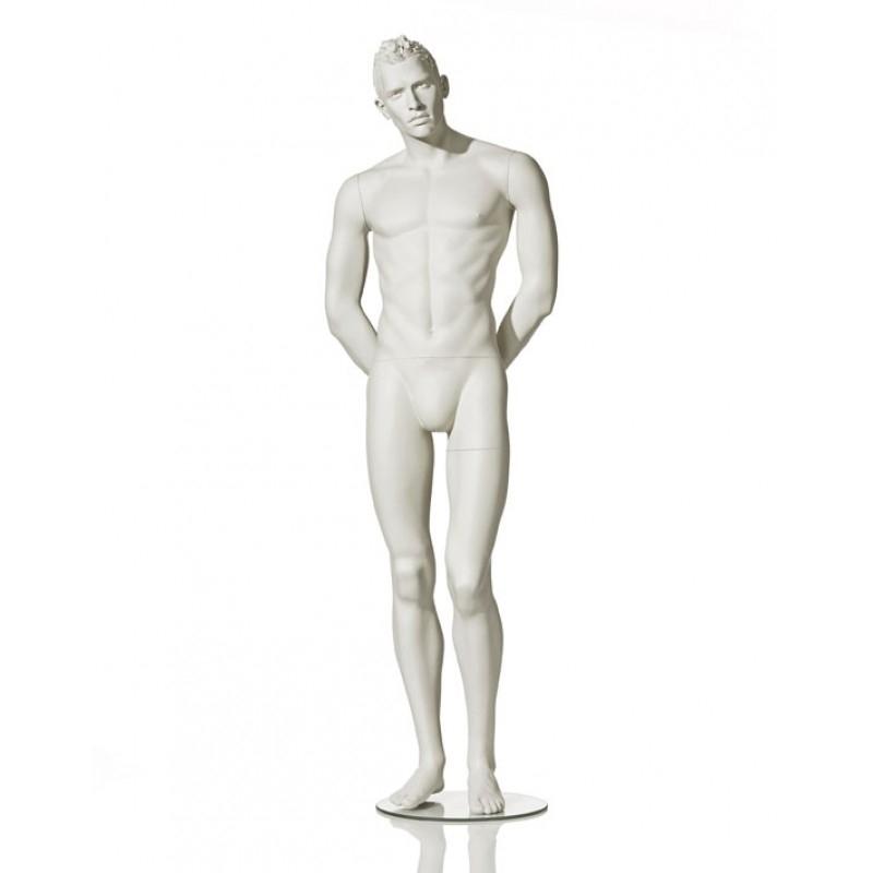 Stilisierte Herrenfigur – PUR – Hindsgaul