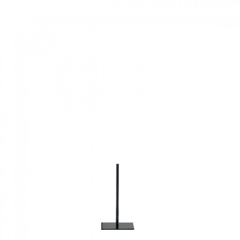 STATIV MED FIRKANTET FODPLADE – TIL DARROL TORSOER OG BUSTER – SORT – 47 cm